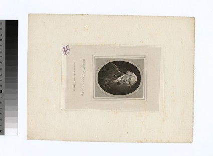 Portrait of H. Mackenzie
