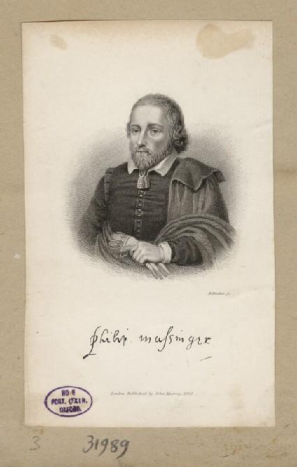 Portrait of P. Massinger