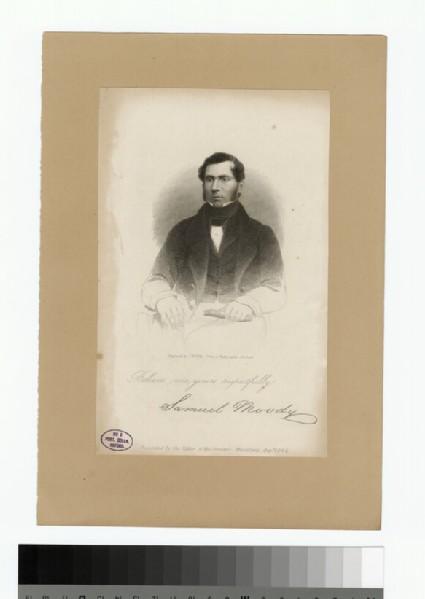 Portrait of S. Moody