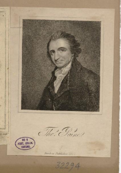 Portrait of T. Paine