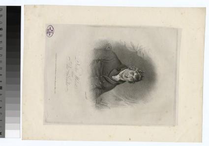 Portrait of J. Wolcot