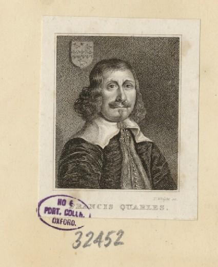 Portrait of Francis Quarles