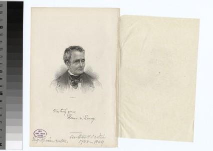 Portrait of T. De Quincey