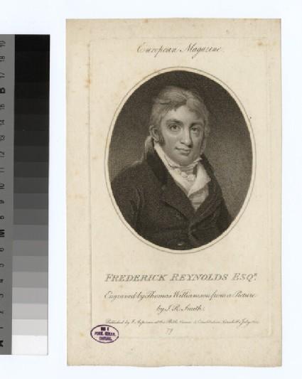 Portrait of F. Reynolds