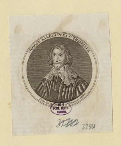 Portrait of G. Sandes