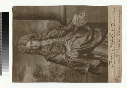Portrait of Thomas Shadwell