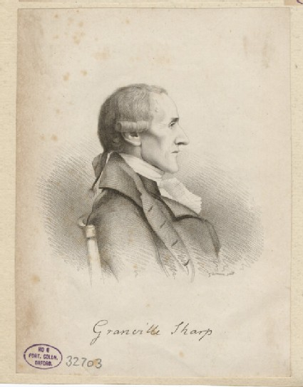 Portrait of G. Sharp