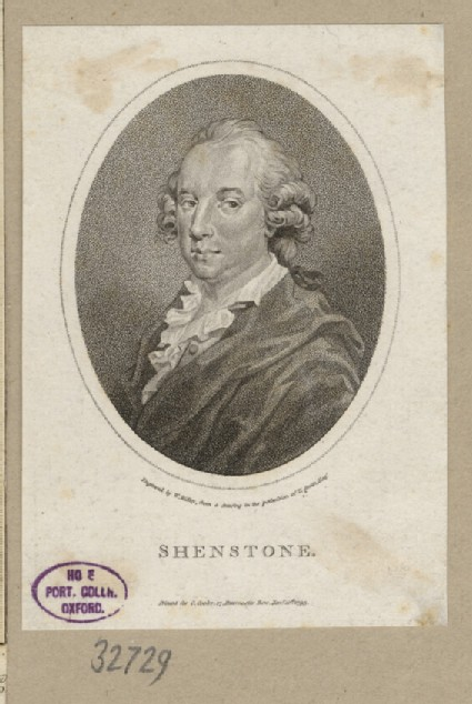 Portrait of W. Shenstone