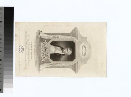 Portrait of R. B. Sheridan