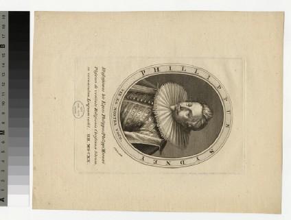 Portrait of P. Sydney