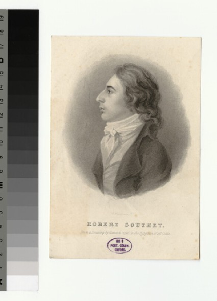 Portrait of R. Southey