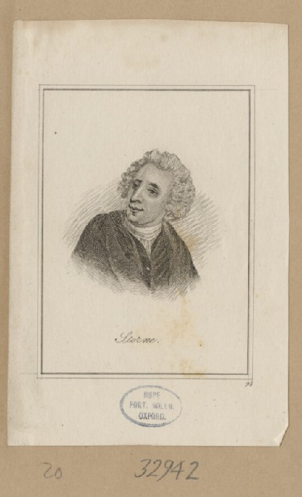 Portrait of Laurence Sterne