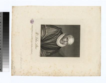 Portrait of J. Stow