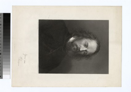 Portrait of Tennyson