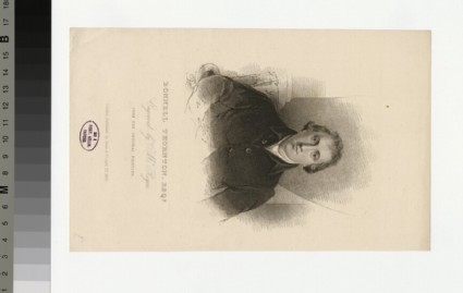 Portrait of B. Thornton