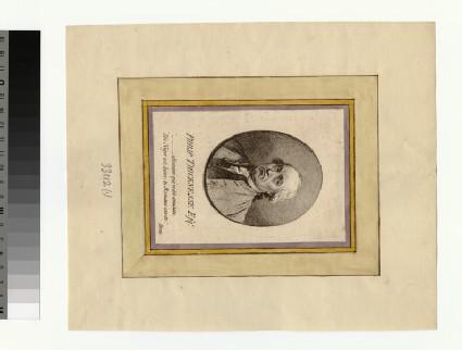 Portrait of P. Thicknesse