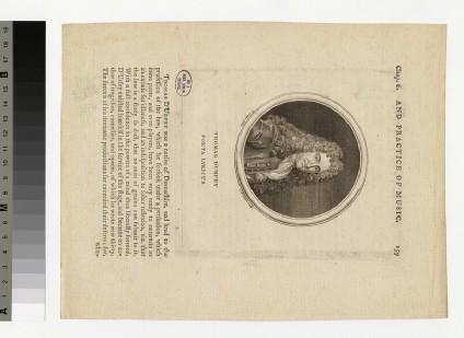 Portrait of Thomas D'Urfey
