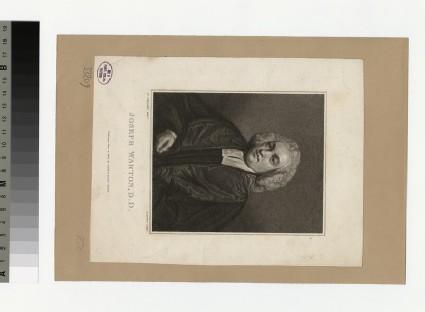 Portrait of J. Warton