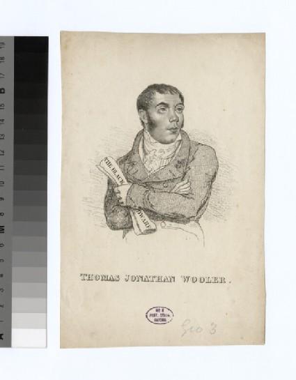 Portrait of T. J. Wooler