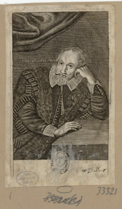 Portrait of Henry Wotton