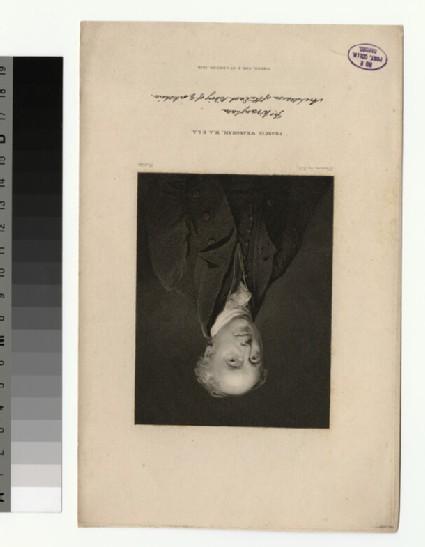 Portrait of F. Wrangham
