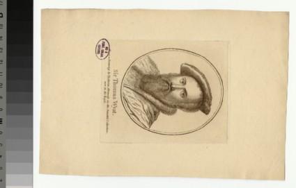 Portrait of T. Wyatt