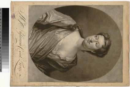 Portrait of Mrs Centlivre