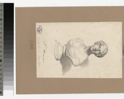 Portrait of Mrs Hemans