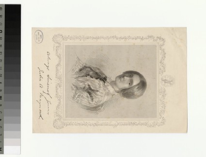 Portrait of Julia A. Maynard