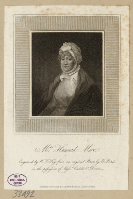 Portrait of H. More