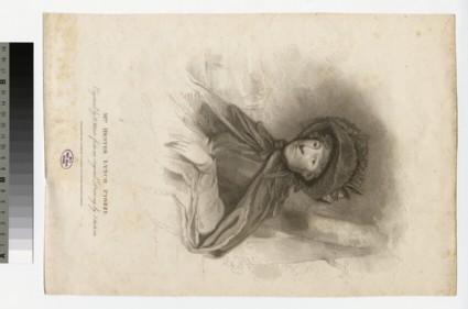 Portrait of Mrs Piozzi