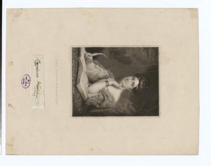 Portrait of Mrs Norton Caroline