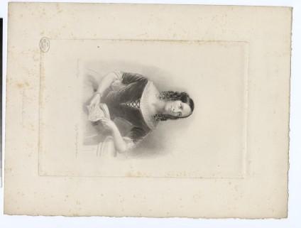 Portrait of Agnes Strickland