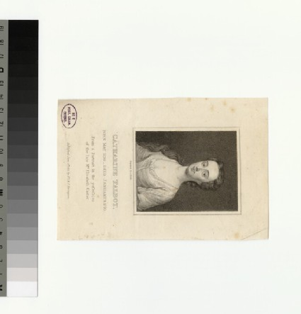 Portrait of Miss Talbot
