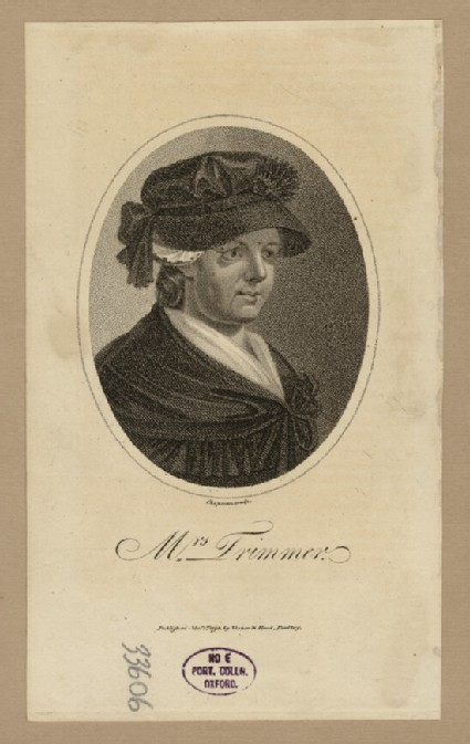 Portrait of Mrs Trimmer