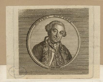 Portrait of Admiral Boscawen