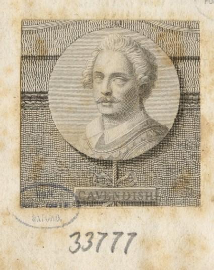Portrait of T. Cavendish