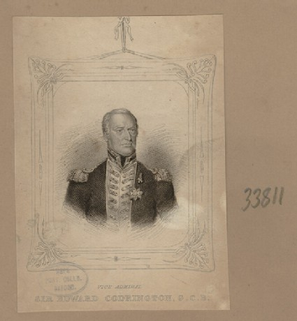 Portrait of Admiral E. Codrington