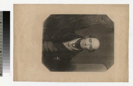 Portrait of Sir E. Codrington