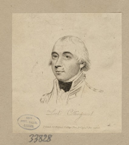 Portrait of Admiral Collingwood