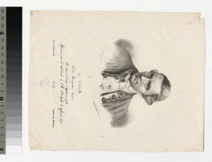 Portrait of Capt J. Cook
