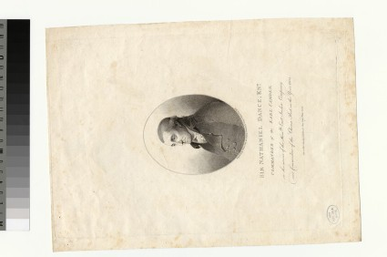 Portrait of Sir N. Dance