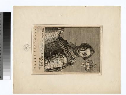 Portrait of F. Drake