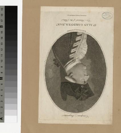 Portrait of Admiral Alan Gardner