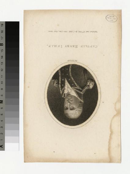 Portrait of Capt.H. Inman