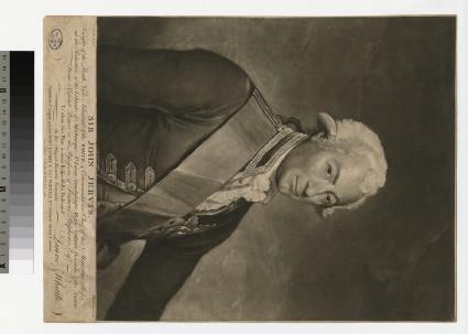 Portrait of Admiral sir J. Jervis