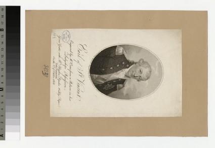 Portrait of Earl St Vincent