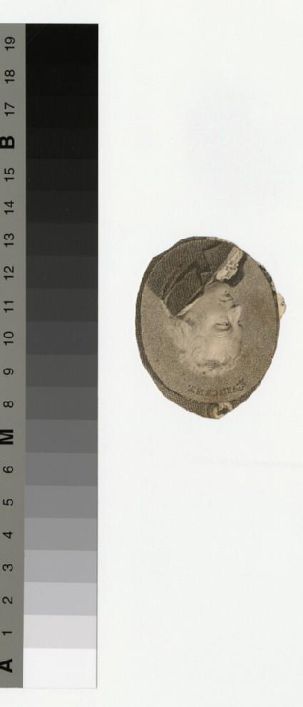 Portrait of St Vincent