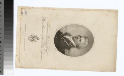 Portrait of Admiral T. Mackenzie