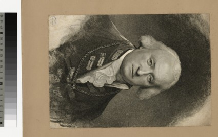 Portrait of Sir T. Pasley